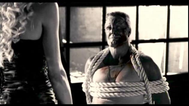 Marv tied up