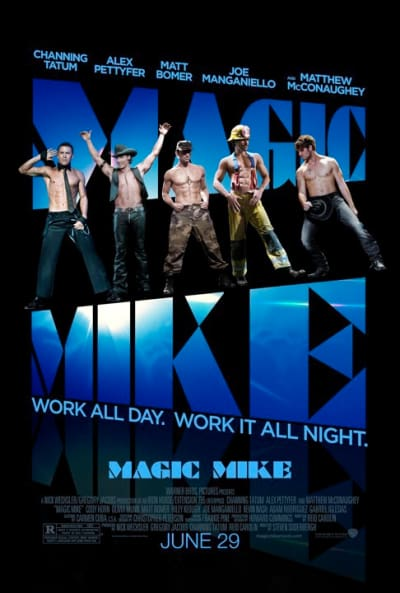 Magic Mike One Sheet Poster