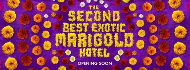 The Second Best Exotic Marigold Hotel Banner