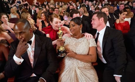 Octavia Spencer: Oscar Winner's Backstage Interview