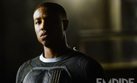 Fantastic Four Michael B. Jordan Photo