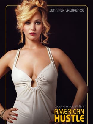 American Hustle Jennifer Lawrence Character Poster