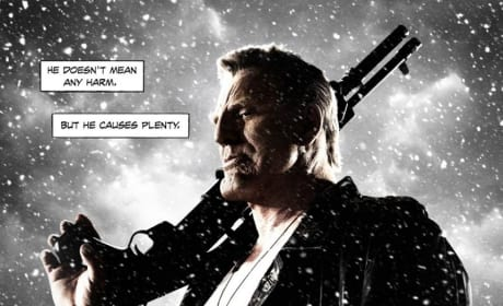 Sin City A Dame to Kill For Mickey Rourke Character Poster