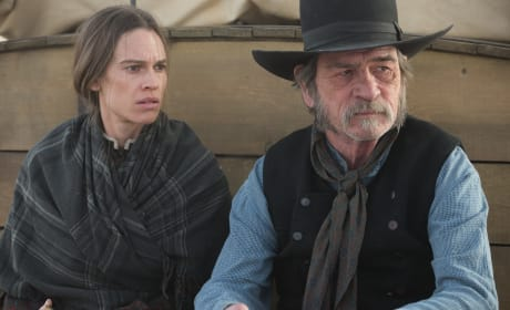 The Homesman Tommy Lee Jones Hilary Swank