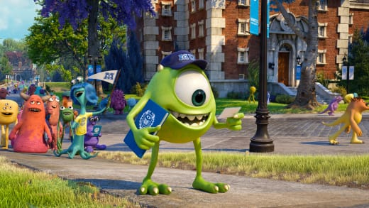 Billy Crystal is Mike in Monsters University