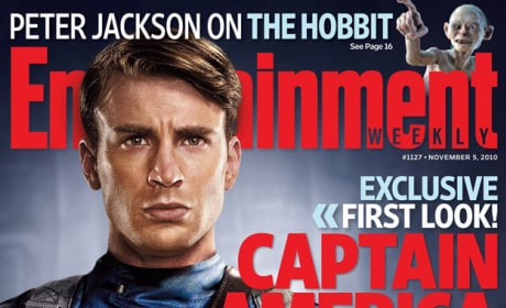 EW Captain America Cover