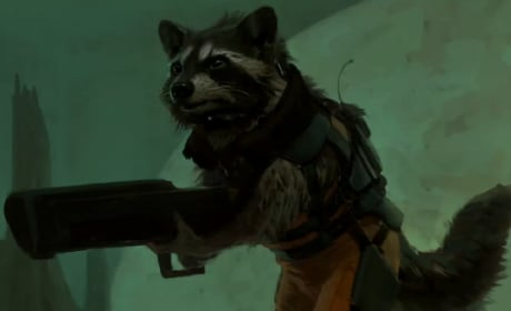 Rocket Raccoon Concept Art