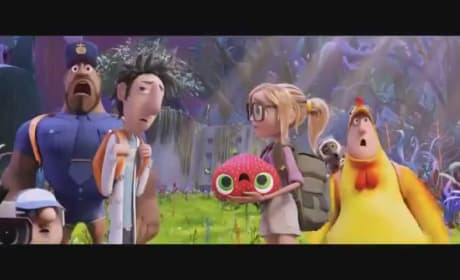 Cloudy with a Chance of Meatballs 2 Clip: Meet the Foodimals!
