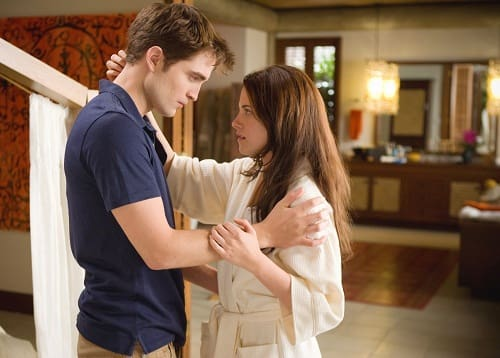 Bella and Edward in Breaking Dawn