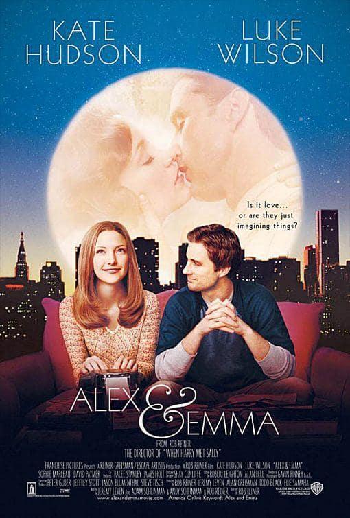 Alex & Emma Movie Poster