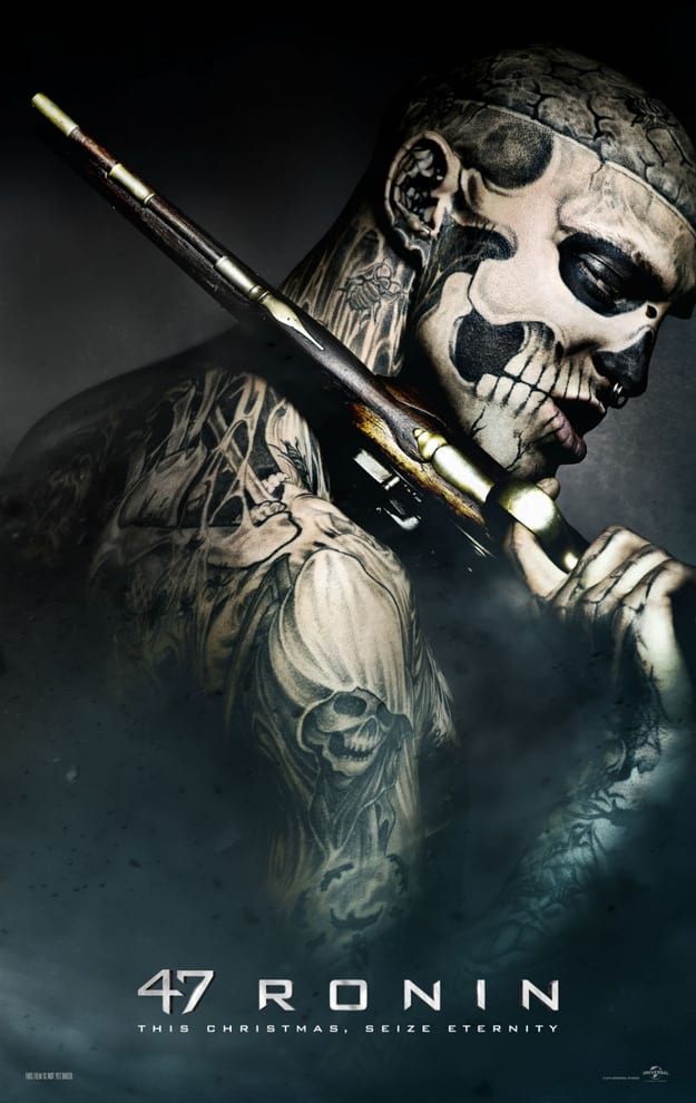 47 Ronin Villain Poster