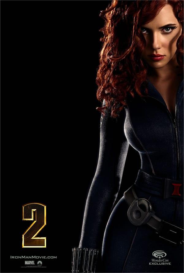 Iron Man 2 Black Widow Poster