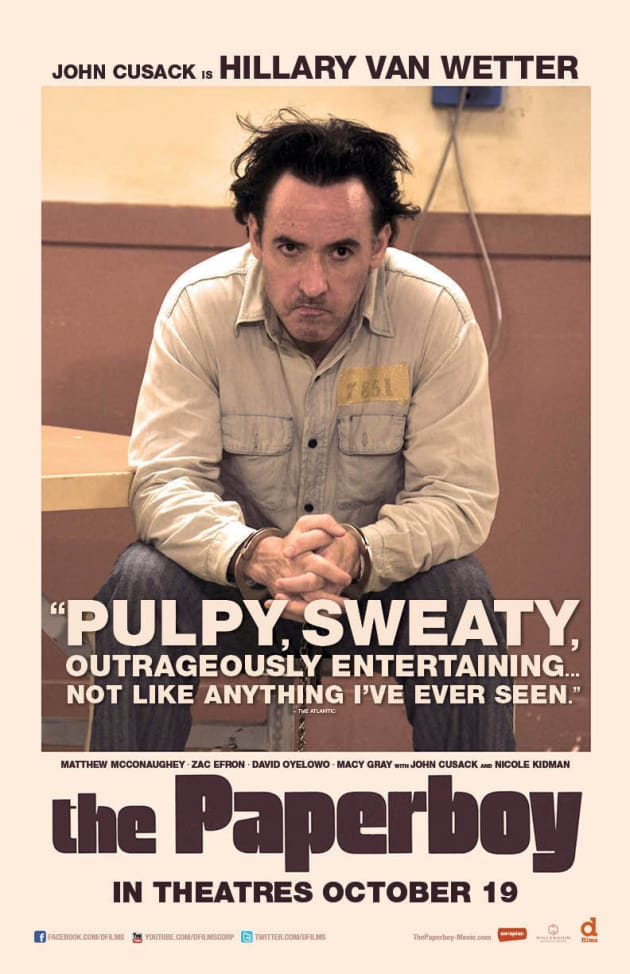 The Paperboy John Cusack Poster