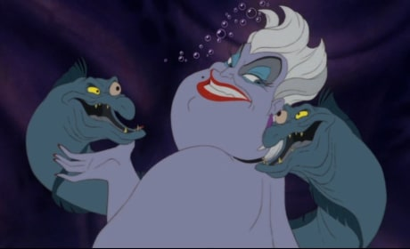 Ursula in The Little Mermaid