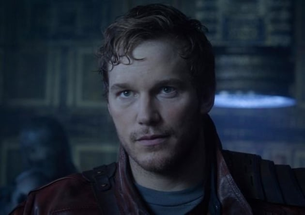 Guaridans of the Galaxy Chris Pratt