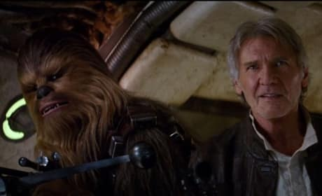 Star Wars The Force Awakens Han Solo Chewbacca