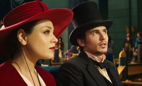 James Franco Mila Kunis Oz The Great and Powerful