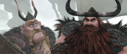 Stoick and Gobber Face a Dilemma
