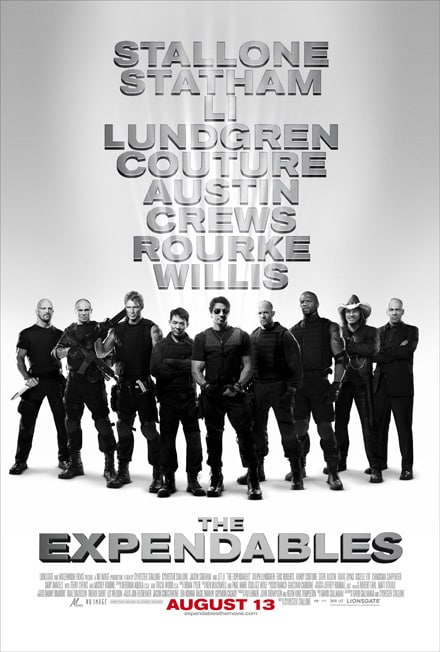 The Expendables Cast Poster