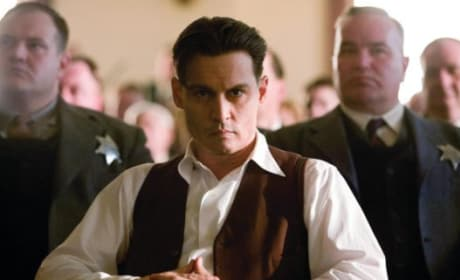 Public Enemies Photos: Depp as Dillinger, Bale as Purvis