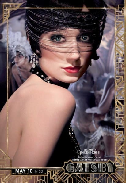 The Great Gatsby Elizabeth Debicki Poster