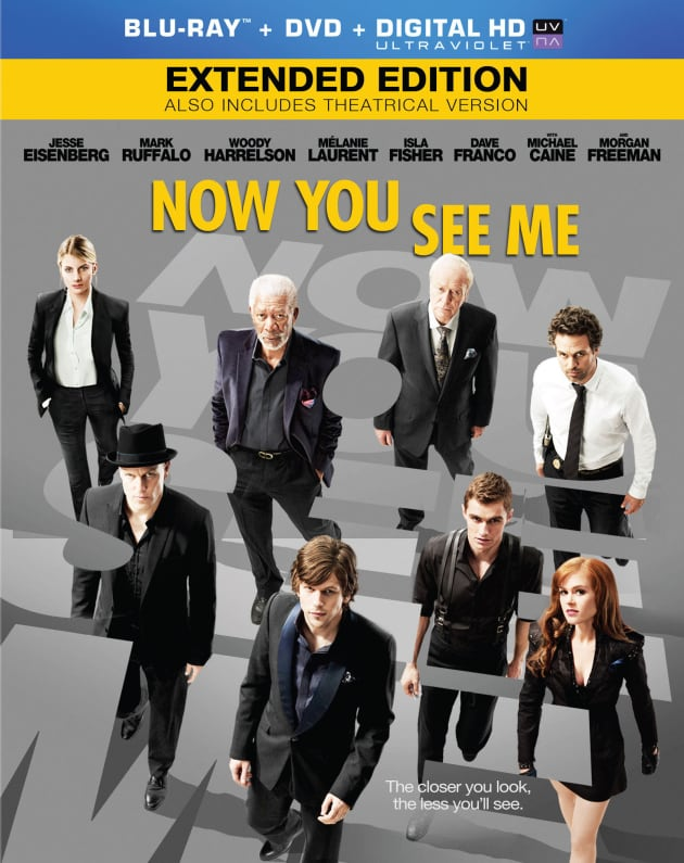 Now You See Me DVD