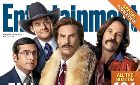 "Anchorman 2: Cast Photo Goes ""Deep Inside Ron Burgundy"""