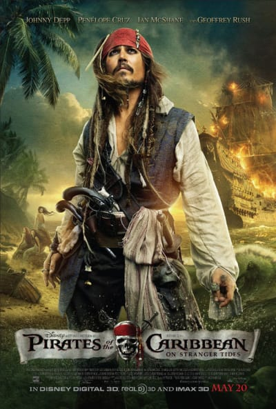 Pirates of the Caribbean 4 Official Poster