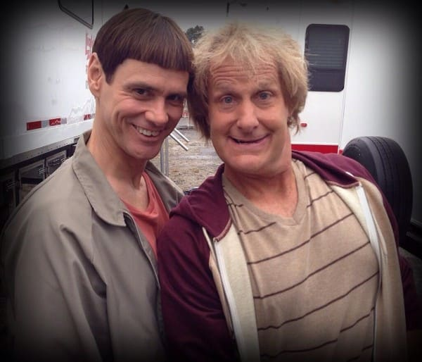 Jeff Daniels Jim Carrey in Dumb and Dumber To