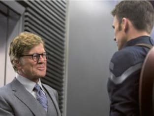 Captain America: Winter Soldier Robert Redford Chris Evans