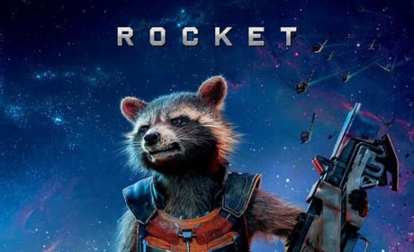 Guardians of the Galaxy Rocket Raccoon Poster