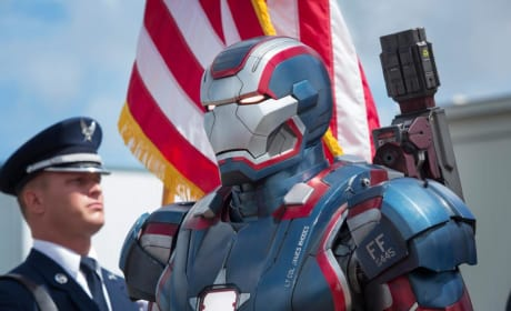 Iron Man 3 Drops Four New Images: Iron Patriot and Dr. Maya Hansen