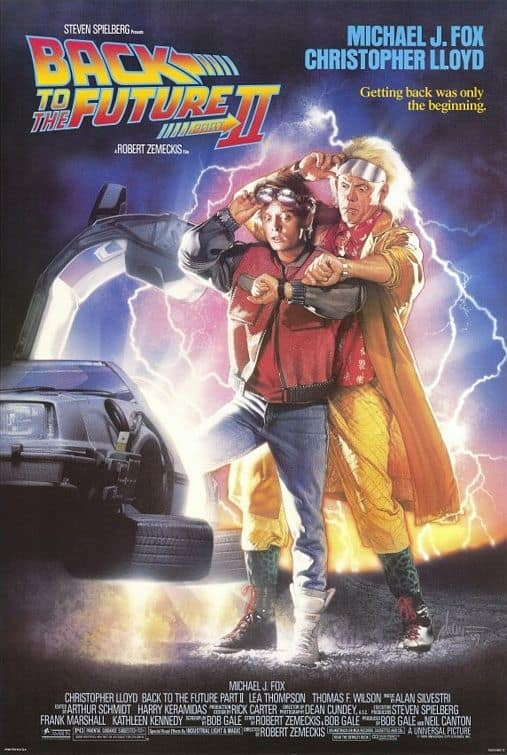 Back to the Future Part II Photo