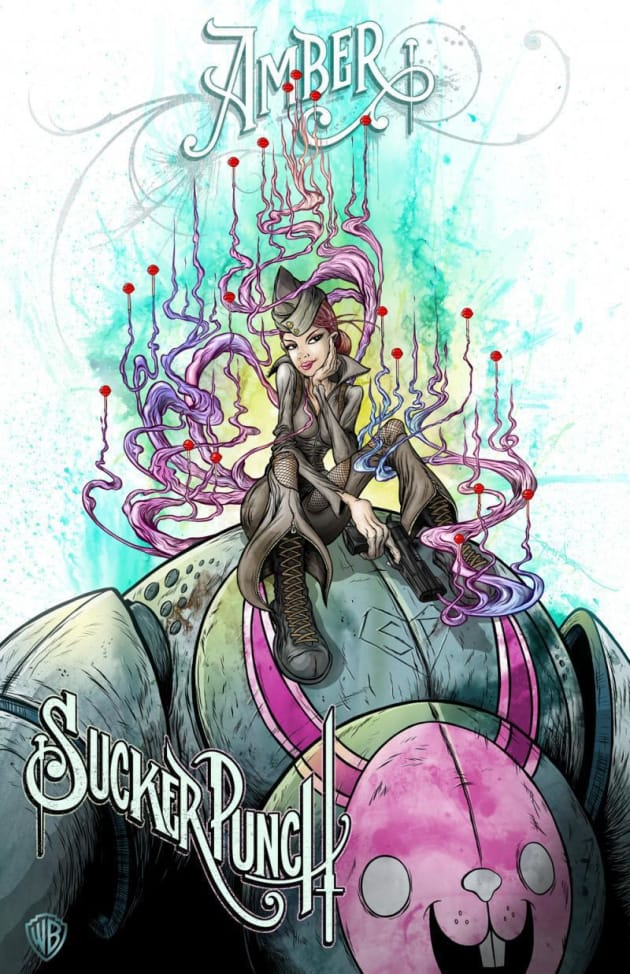 Sucker Punch Amber Comic-Con Poster