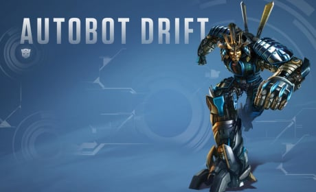 Transformers Age of Extinction Dinobot Drift