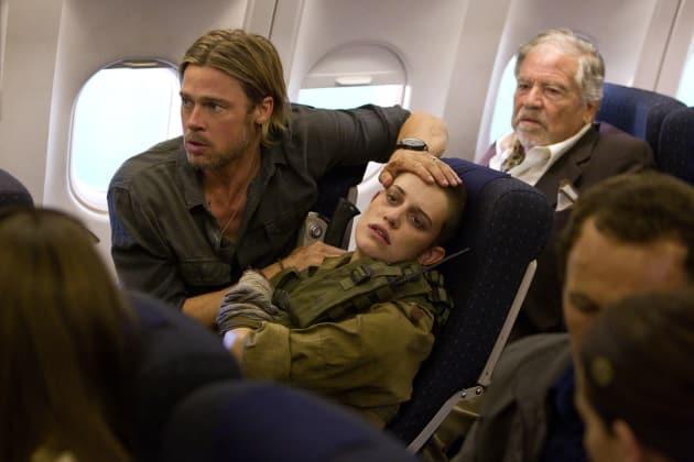 Brad Pitt World War Z Pic