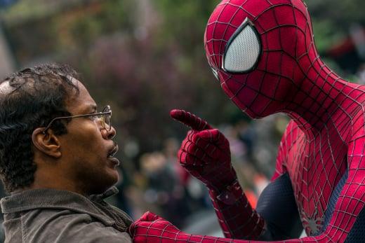 The Amazing Spider-Man 2 Andrew Garfield Jamie Foxx