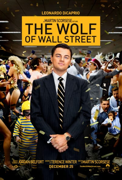 The Wolf of Wall Street Leonardo DiCaprio Poster