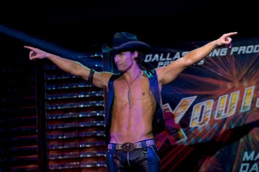 Magic Mike Still: Matthew McConaughey