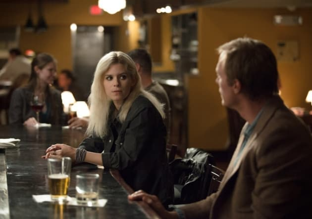 Kate Mara Has More Than a Drink