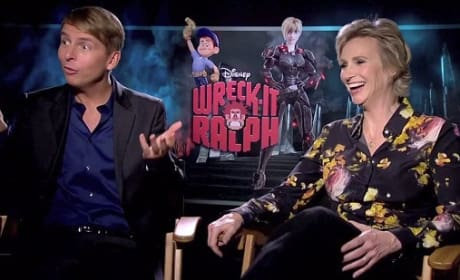 Jack McBreyer and Jane Lynch Picture