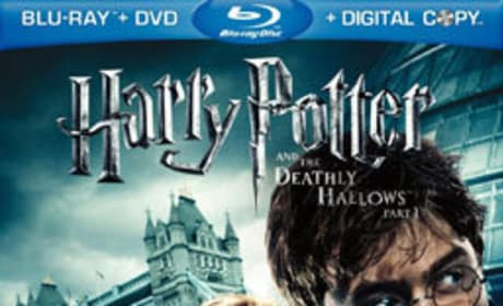 Harry Potter and the Deathly Hallows Part 1 DVD Cover