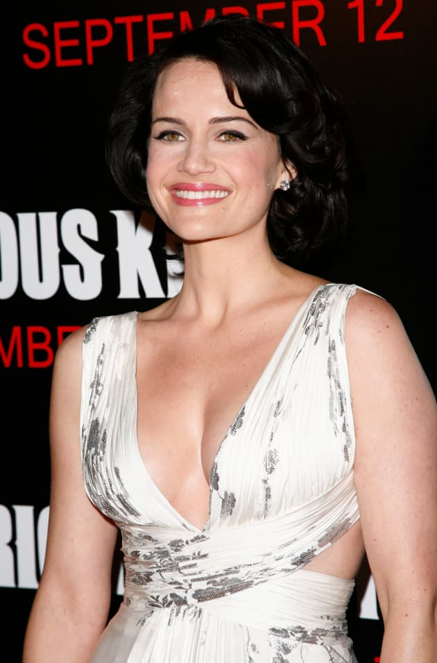 Gugino, at the Premiere