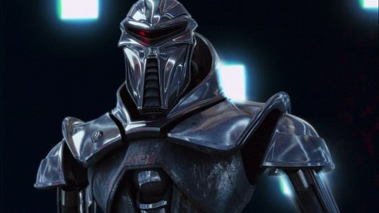 Cylon from Battlestar Galatica