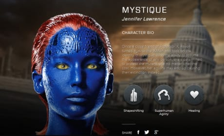 X-Men Days of Future Past Mystique Bio Banner