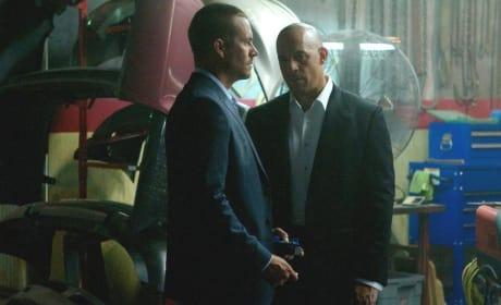 Fast and Furious 7 Photos: Vin Diesel & Paul Walker Together!
