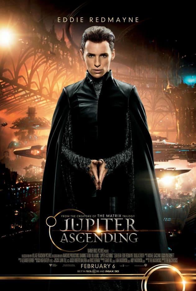 Jupiter Ascending Character Poster Eddie Redmayne