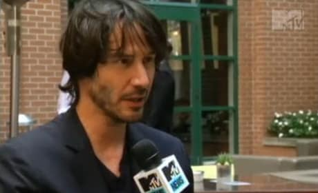 Keanu Talks Bill and Ted 3