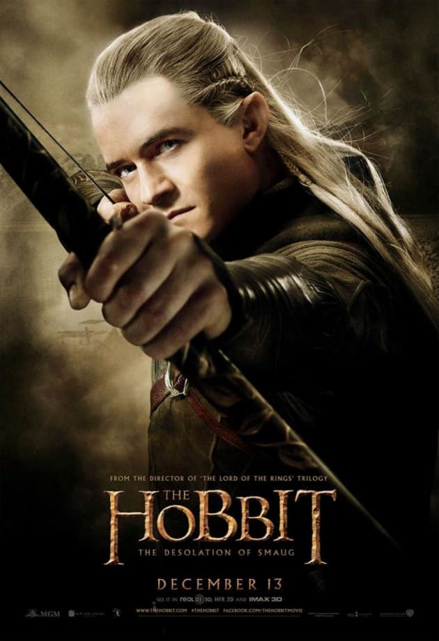 The Hobbit: The Desolation of Smaug Legolas Poster