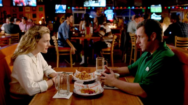 Sandler Takes Barrymore to Hooters
